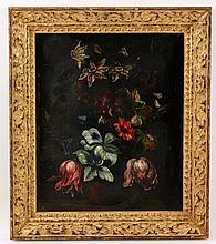 18th C. Floral Still Life, O/C