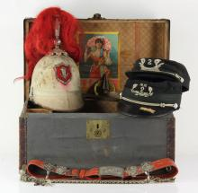 Knights of Pythias Ceremonial Box and Contents