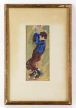 Portrait of a Boy, Watercolor