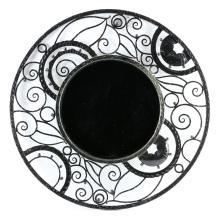 Art Deco Style Wrought Iron Mirror
