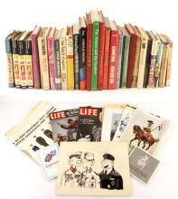 Lot of Military Books and Ephemera