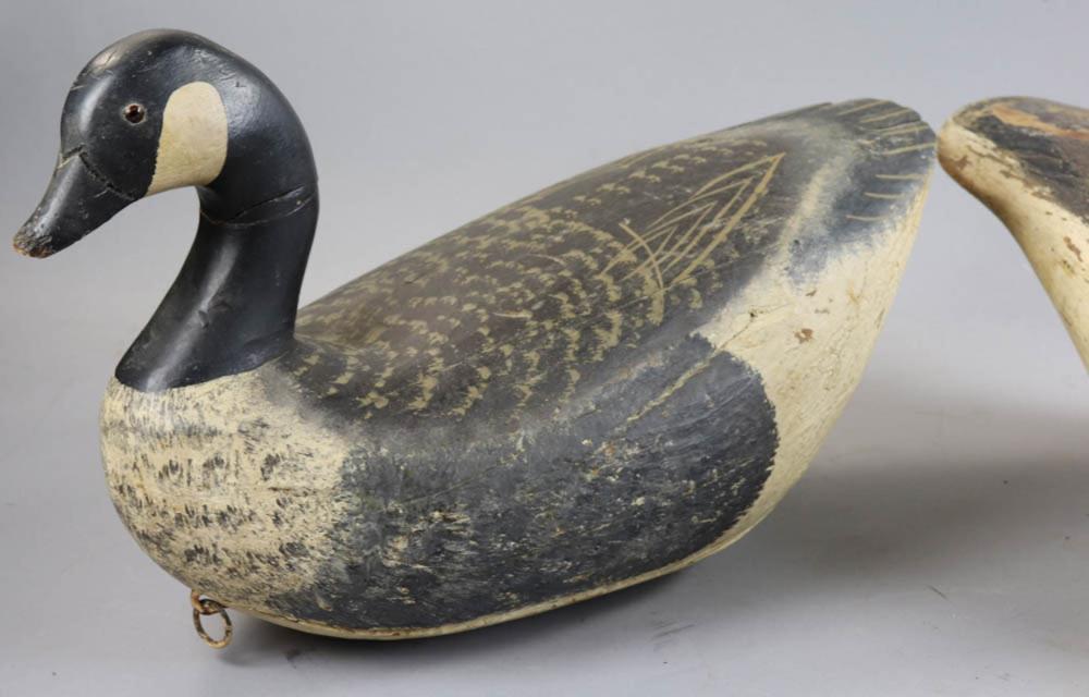 Two Antique Goose Decoys