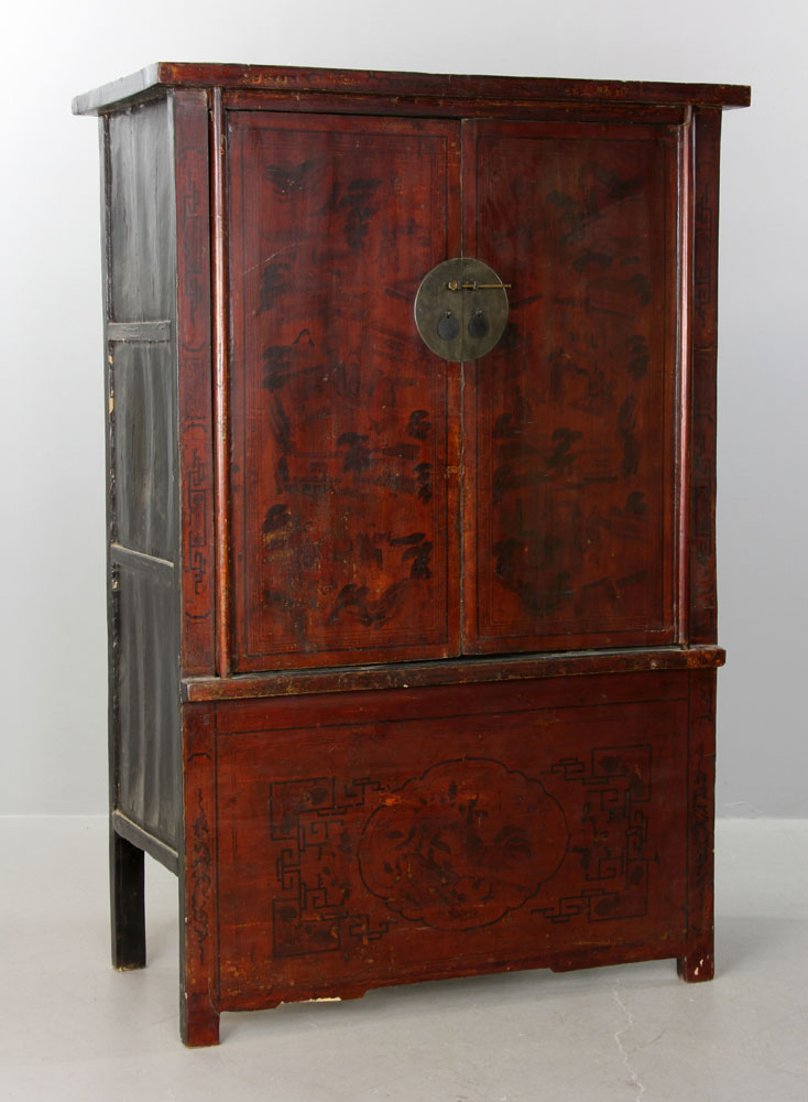 Antique chinese cabinet for Antique asian cabinet