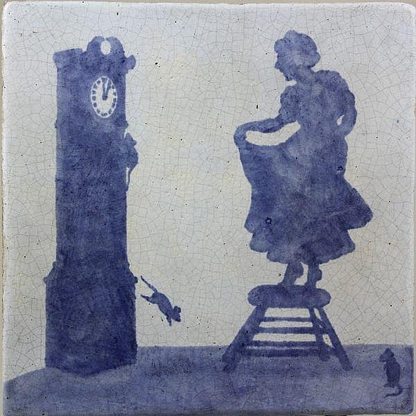 Attributed Tutt, Arts and Crafts Tile