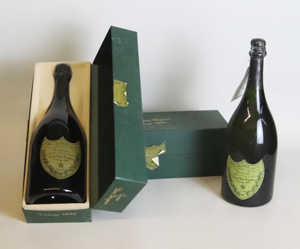 1990 Moet et Chandon Dom Perignon Champagne Brut