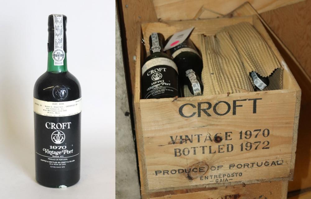 1970 Croft Vintage Port