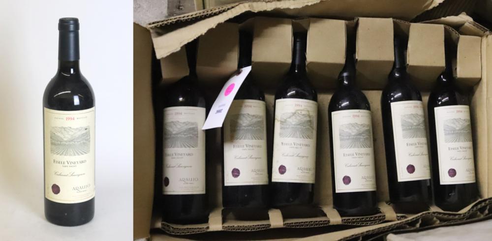 1994 Araujo Estate Wines Eisele Vineyard Cabernet Sauvignon