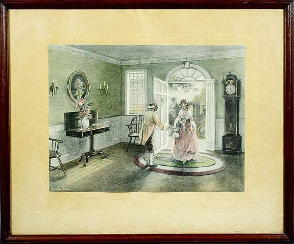 Rare Bessie Pease Gutmann Print