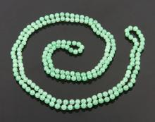 Chinese Light Jade Necklace