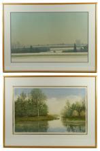 Two Landscape Prints