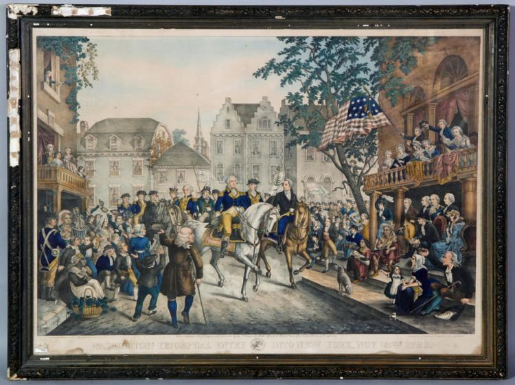 Washington in New York, Print