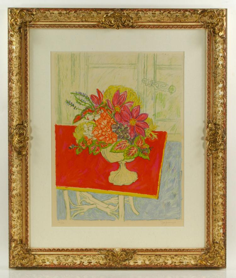 Jessup, Still Life, Lithograph