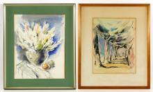 Gurewitsch, 2 Watercolors