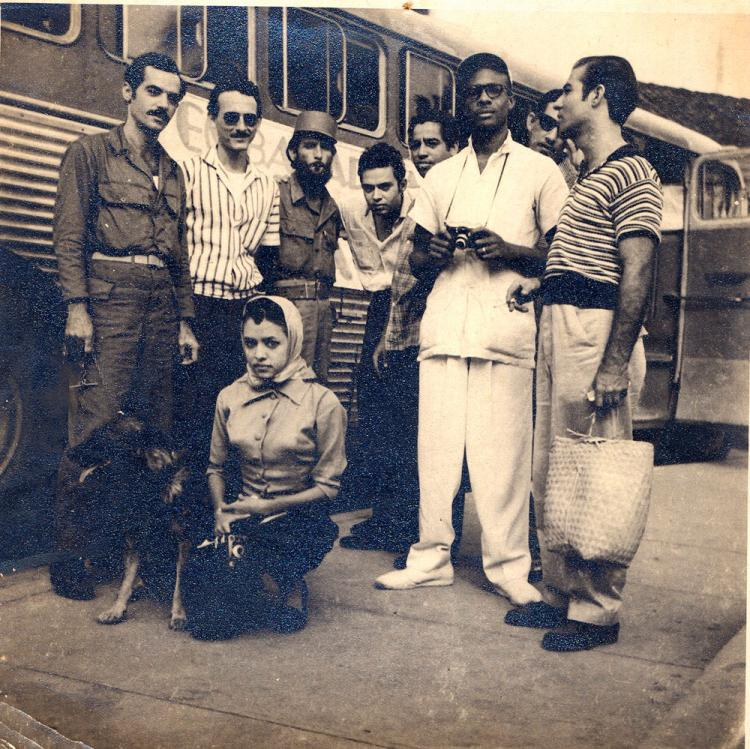 Photograph of Estevez and Cienfuegos' Bodyguards