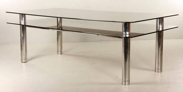 Modern Two Tiered Table