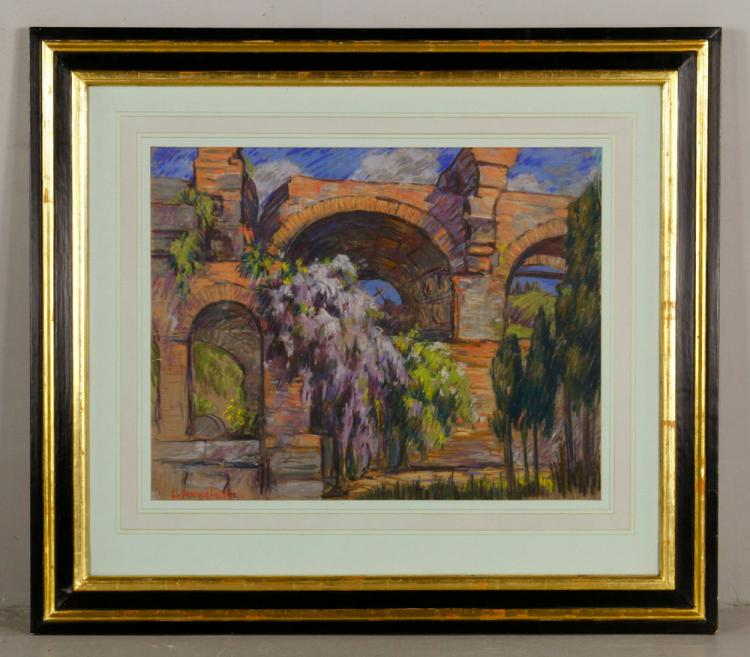 Douglass, Arches, Pastel