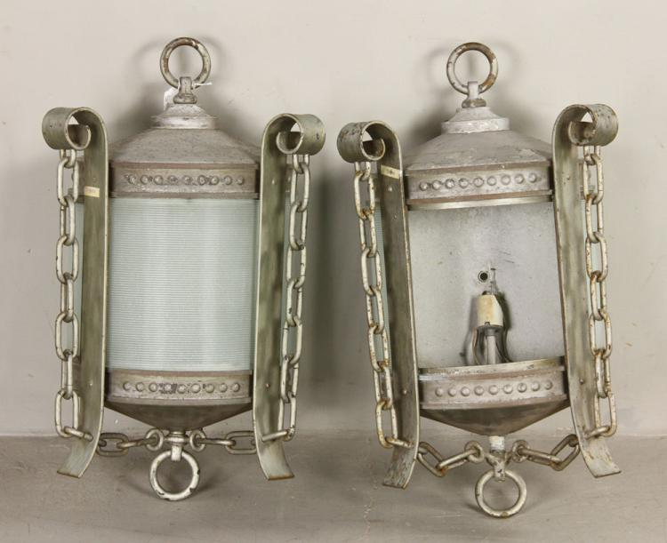 Pr. Nautical Style Lanterns