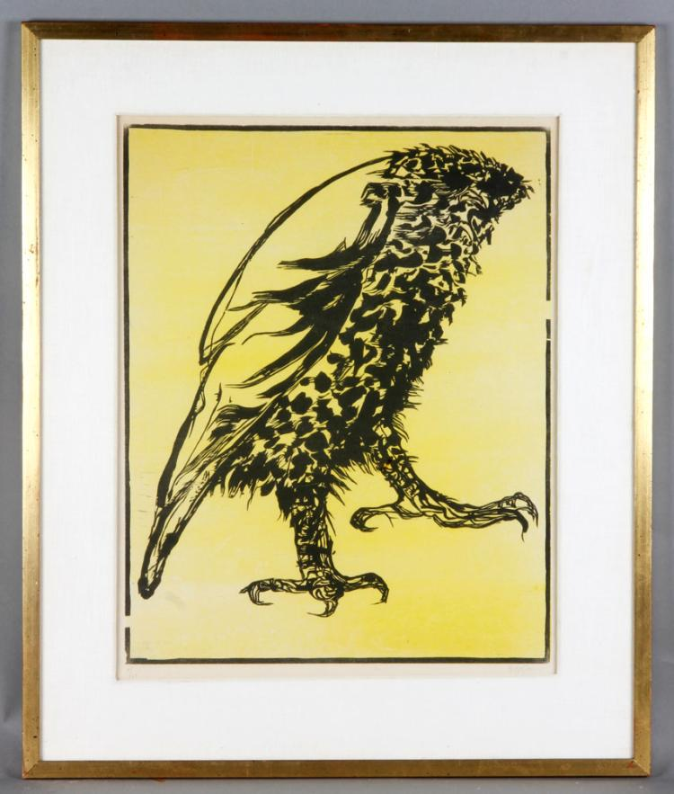 Baskin, Bird of Prey, Print