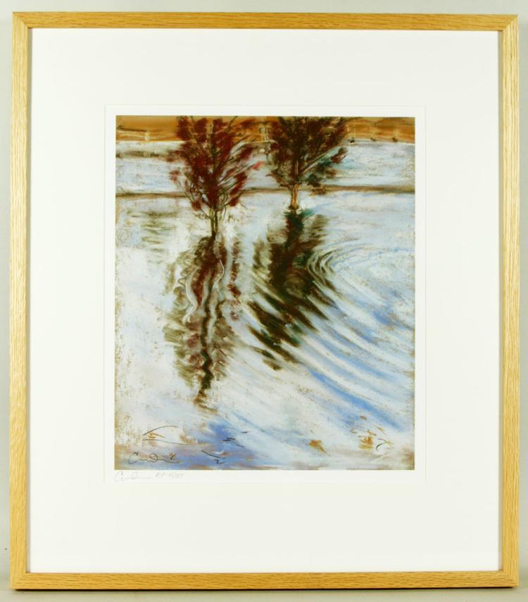 Dearborn, Lake Landscape, Print