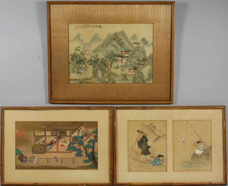 3 Early 20th C. Japanese Prints