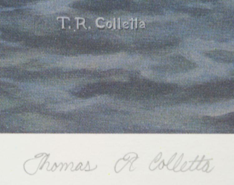 Colletta, Essex, Connecticut, Lithograph