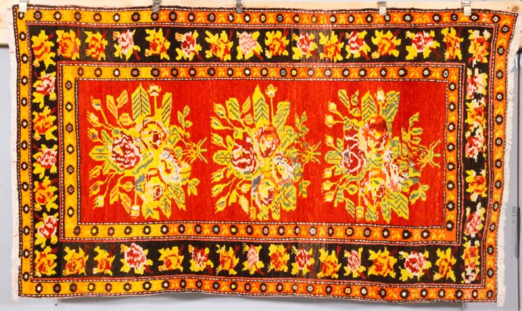 Antique Samarkand Carpet