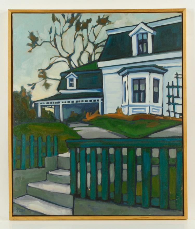 Attr. Mclean, Landscape, Oil on Canvas