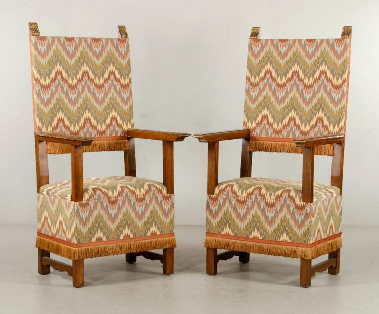 18th to 19th C. Spanish Colonial Armchairs