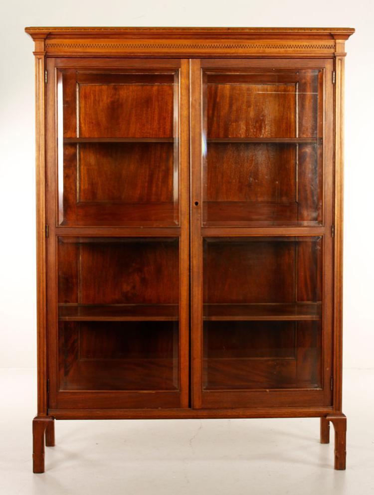 Eastlake Victorian Mahogany Cabinet