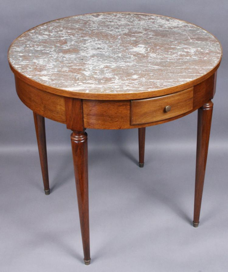 French Directoire Style Bouillotte Table