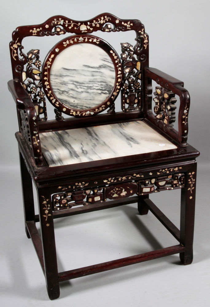 Chinese Teak Wood Chair