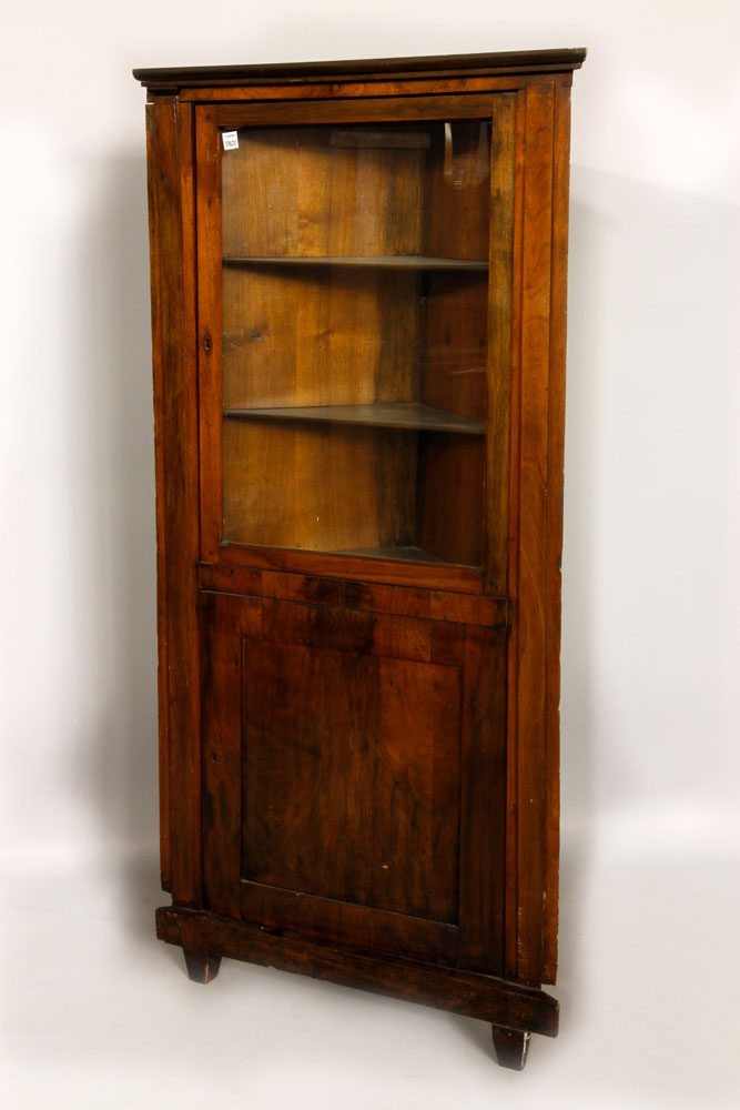 19th C. Italian Fruitwood Cabinet