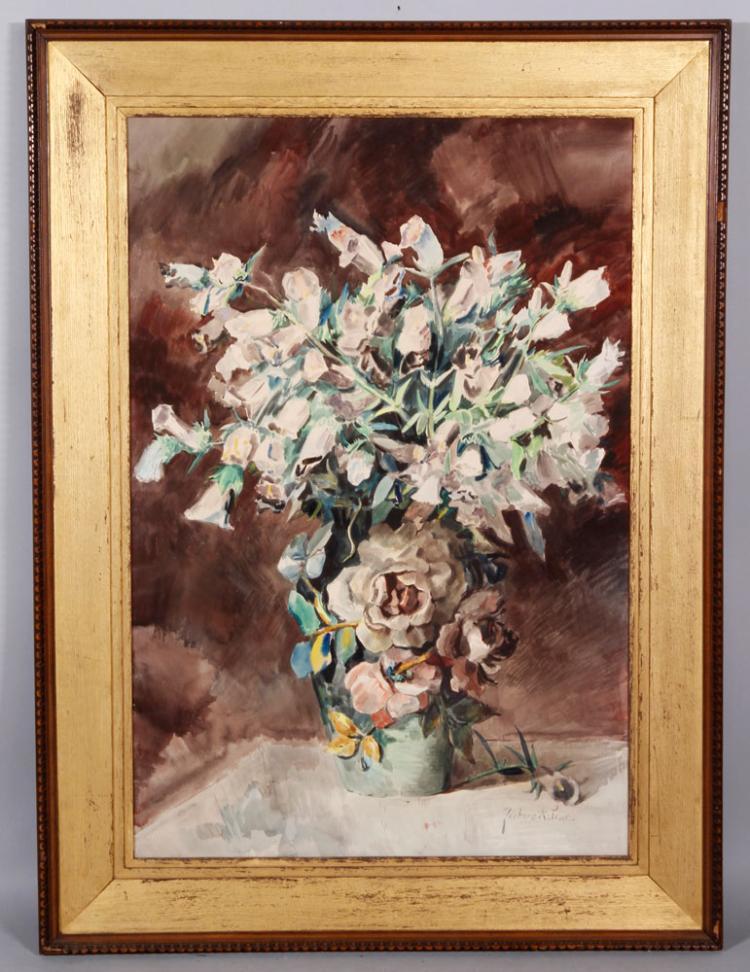 Astrue, Floral Still Life, Painting
