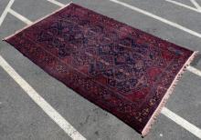 Antique Turkish Tribal Carpet