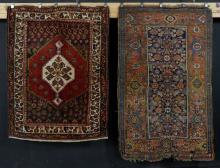Antique Shiraz and Hamadan Carpets