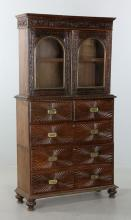 Early 20th C. China Trade Bookcase