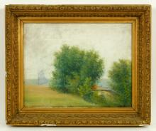 American Landscape, Pastel