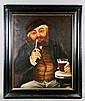 19th C. Portrait of an Inn Keeper, O/C