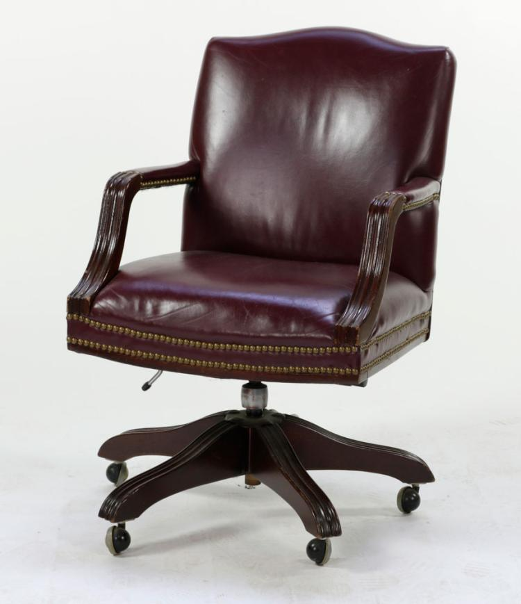 Leather Office Armchair