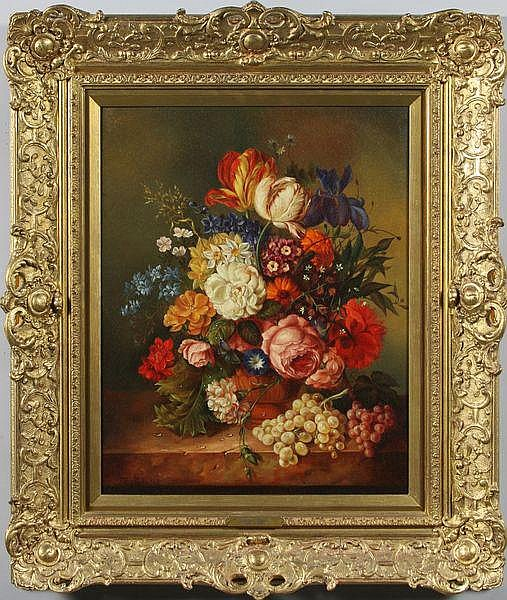 Gabriel, Floral Still Life, O/P