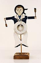 Folk Art Nantucket Whirligig