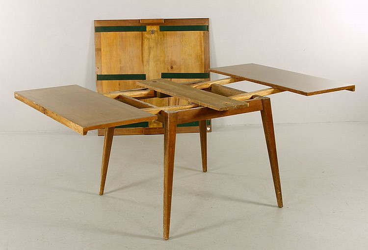 lot 5383 danish mid century modern teak dining table
