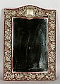 19th C. English Silver Mirror