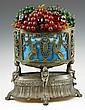 20th C. Art Nouveau Brass Table Lamp