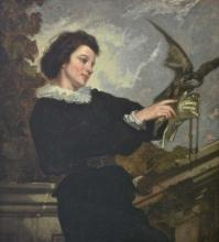 After Thomas Couture, Oil on Canvas
