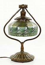 Tiffany Studios Bronze Table Lamp