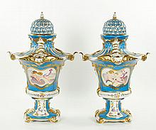 Pr. Sevres French Style Urns