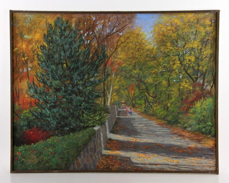 Kerry, Fall Scene, Pastel