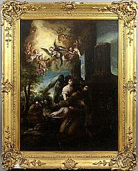 17th C., Circle of Juan de Valdes Leal, o/c