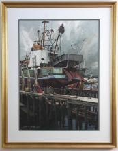 Joseph LC Santoro, Drydock in Gloucester